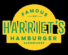 Harriet's Hamburgers Logo Charlotte, NC@
