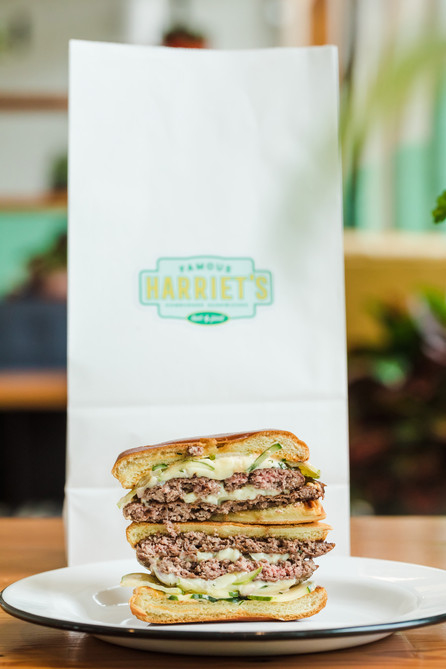 Harriet's Hamburgers Best Burger To Go
