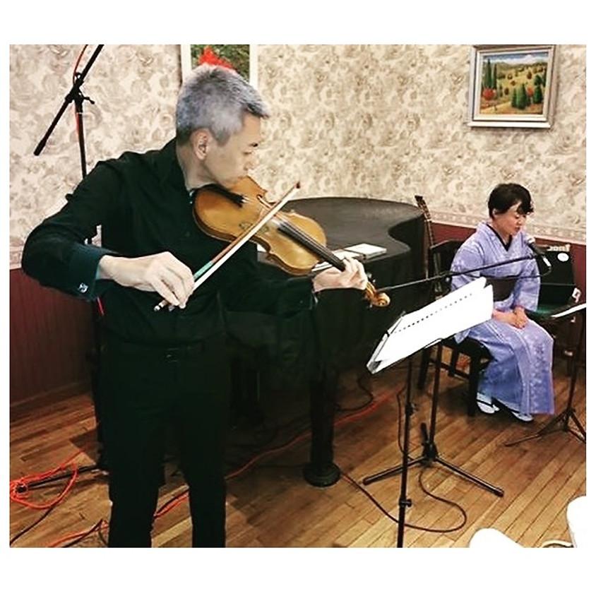 おとがたり~朗読とヴァイオリンの世界~@ CARAVANSERAI 2018
