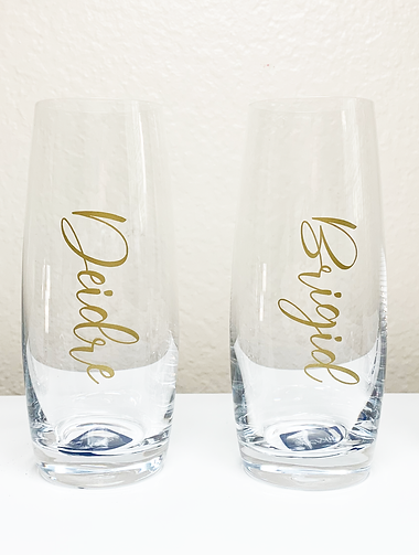 Cups - Champagne - Glass - Clear - Bridal Party.png