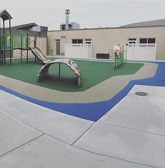 Playgrund safety surface