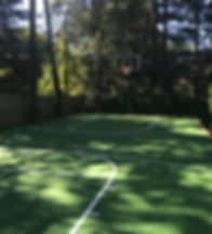 rubber sports court