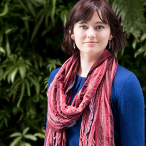 A photograph of Claire Collison