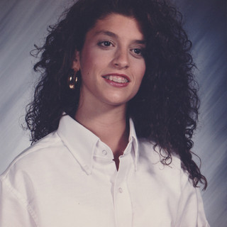 1992 Senior year school picture - Big hair don't care.