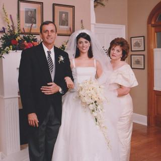 1999 My wedding day - Married my BFF