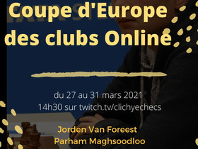 Clichy vice-champion d'Europe des clubs !!!