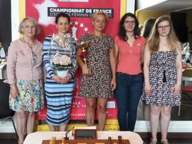 Clichy champion(ne) de France féminin par équipes