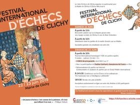 Festival d'échecs de Clichy - 22 & 23 juin