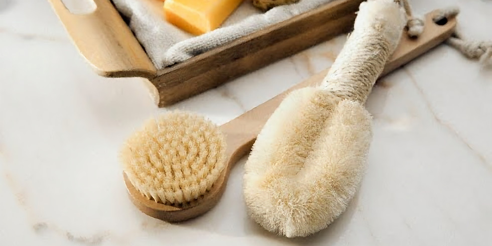 Cellulite Be Gone! Learn how to skin brush the meridians in the Salt Cave!
