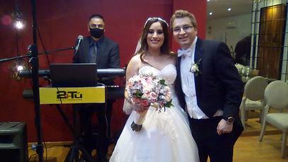 Tecladista Jesus Flores Boda Nayeli y Al