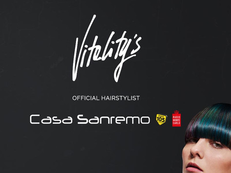 Vitality's L'official Hairstyle Di Casa Sanremo