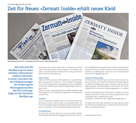 Redesign Zermatt Inside