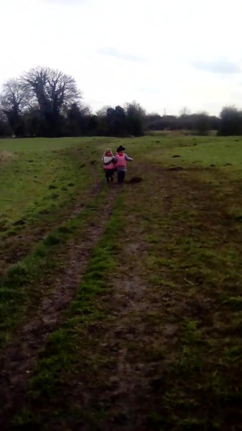 Running Through The Fields