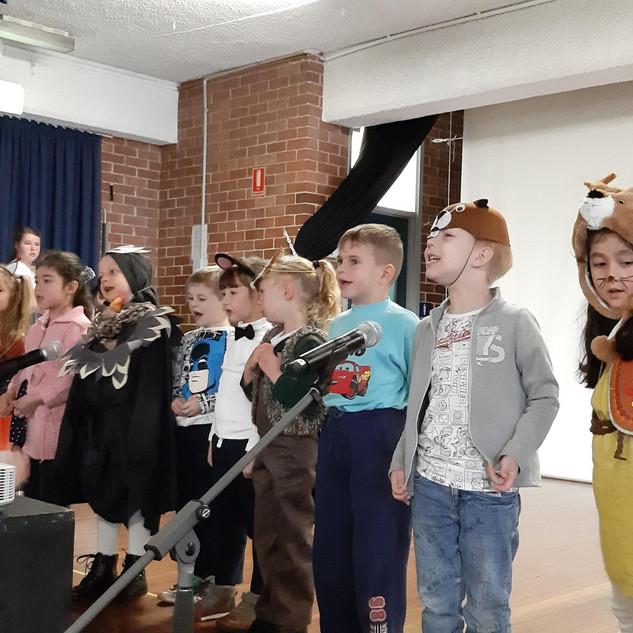 Младшая хоровая группа
