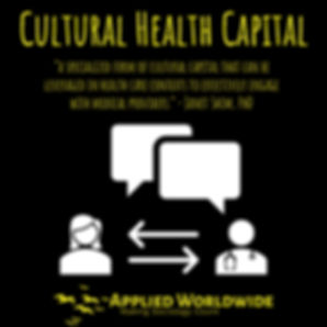 Cultural Health Capital Applied Worldwid