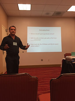 Luke Hanna sociology presentation pacific sociological association