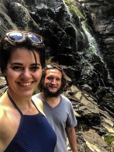 Stephanie Wilson and Luke Hanna