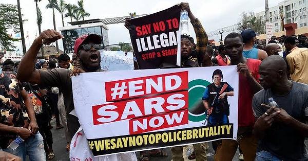 #EndSARS Protests in Nigeria