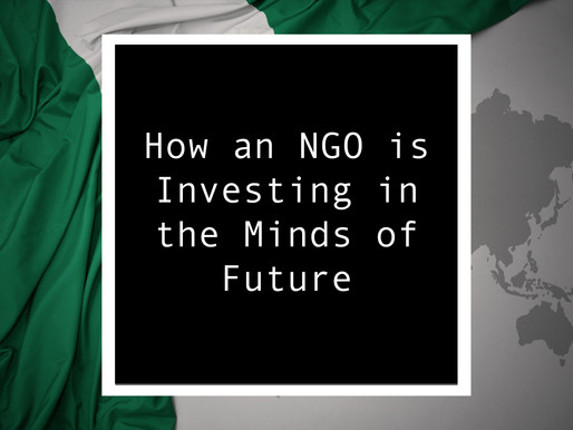 From Nigeria - How an NGO is Investing in the Minds of Future Change-makers
