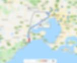 Google Map Data 2019 Torquay, Victoria near Melbourne Australia.