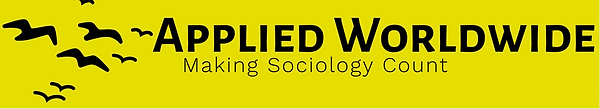 Logo for Applied Worldwide, making sociology count