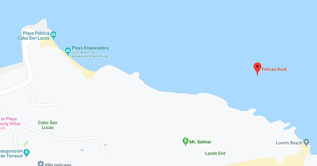 Google map data 2019 pelican rock