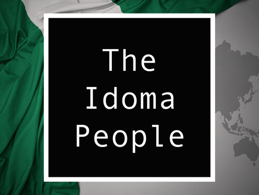 From Nigeria - The Idoma People