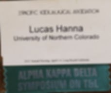 Lucas Hanna pacific sociological association university of northern colorado
