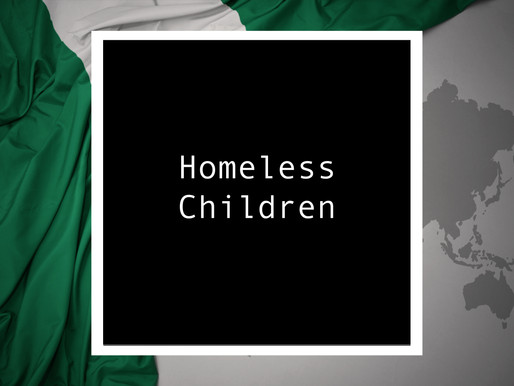 From Nigeria - Homeless Children
