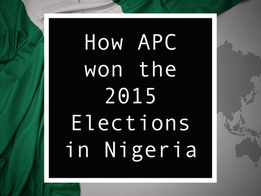 From Nigeria - How APC won the 2015 Elections in Nigeria