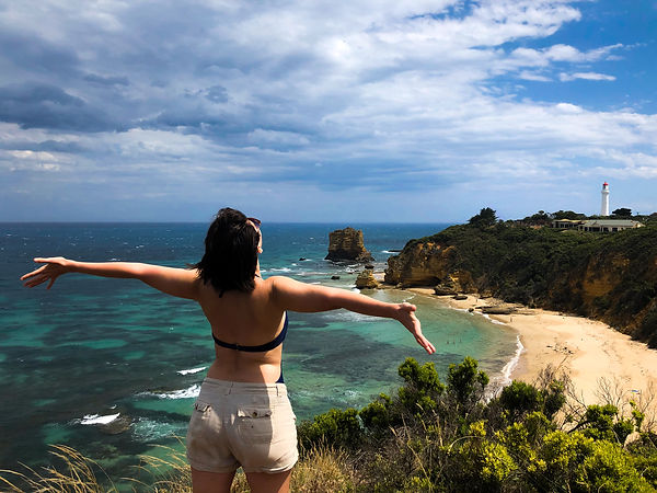Applied Sociologist Stephanie Wilson Travels the Great Ocean Road from Torquay, Victoria