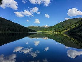 Memories at Spring Creek Reservoir: Gunnison National Forest