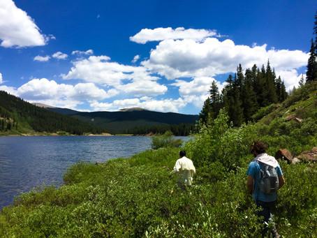 Memories at Spring Creek Reservoir Gunnison National Forest