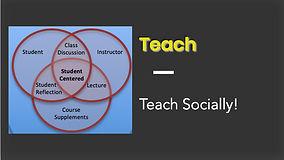 teach socially with applied worldwide