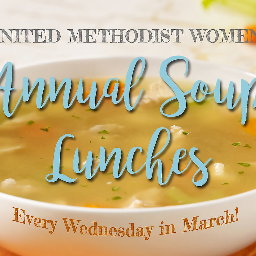 Annual Soup Lunches