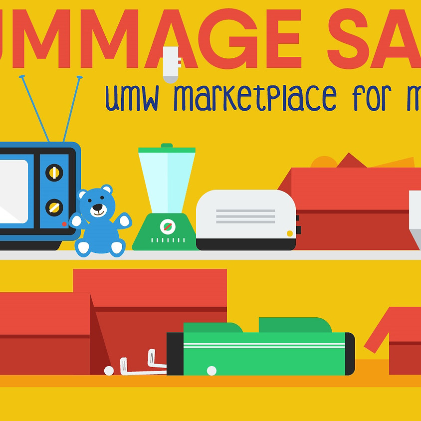 Marketplace for Missions Rummage Sale
