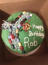 Landscaping Birthday Cake