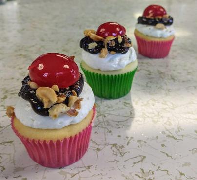 Mexican Sundae Cupcakes