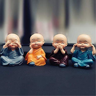 Buddha Monks Statues Small