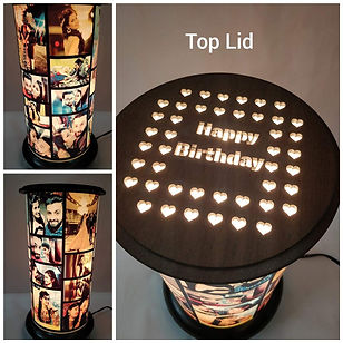 Cylindrical Lamp