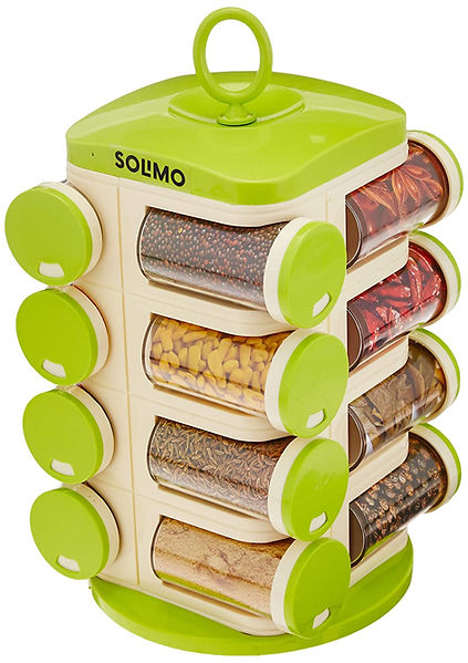 Solimo Revolving Spice Rack set