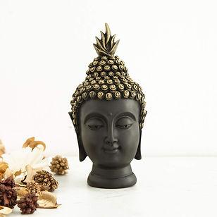 Corsica Buddha Face Figurine