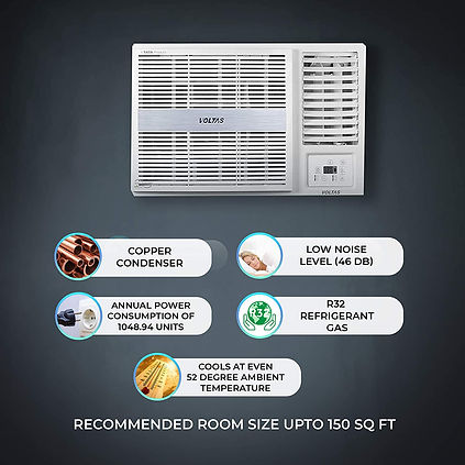 Voltas 5 Star Fixed Speed Window AC