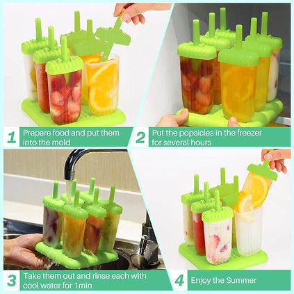 Ice Cream Moulds Tray