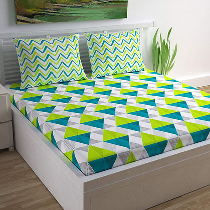 100% Cotton Bedsheet for Double Bed