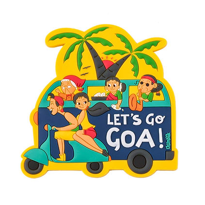 Chumbak Let's Go Goa Fridge Magnet