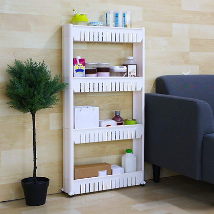 Bathroom Storage Corner Shelf