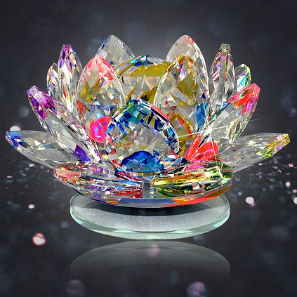 Reiki Crystal Products Crystal Lotus