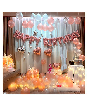 Birthday Foil Decoration Set