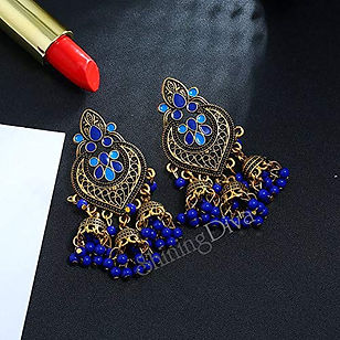 Antique Jhumki Earrings